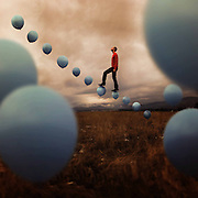 Honey I shrunk ... myself! Photographer uses camera trickery to create magical self-portraits inspired by the Borrowers