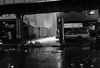 Seaport fish market area of Lower Manhattan New York circa 2000