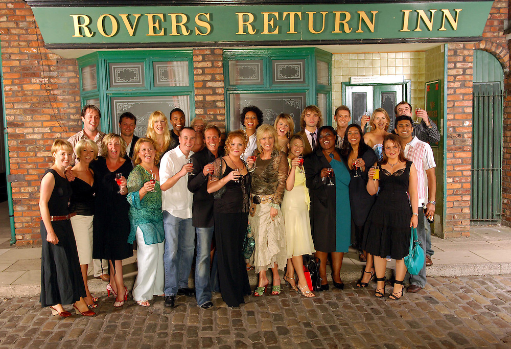 Anthony Cottons 30th Birthday <br />Anthony With Cast Members from corri