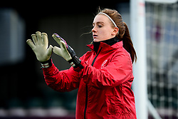 Sophie Baggaley of Bristol City warms up prior to kick off - Mandatory by-line: Ryan Hiscott/JMP - 08/12/2019 - FOOTBALL - Stoke Gifford Stadium - Bristol, England - Bristol City Women v Birmingham City Women - Barclays FA Women's Super League