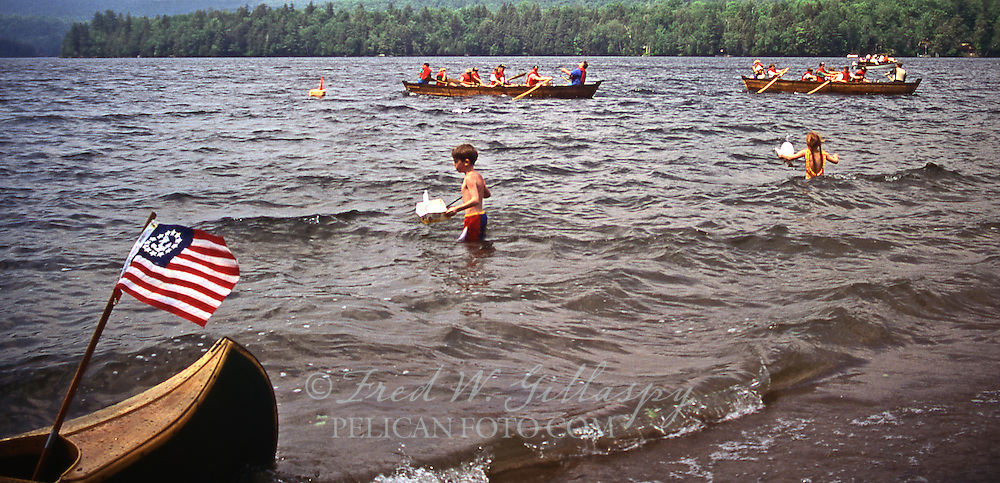 No Octane Regatta at Raquette Lake, Adirondacks