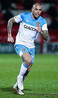 Hull City's Josh Magennis<br /> <br /> Photographer Alex Dodd/CameraSport<br /> <br /> The EFL Sky Bet League One - Accrington Stanley v Hull City - Tuesday 26th January 2021 - Crown Ground - Accrington<br /> <br /> World Copyright © 2021 CameraSport. All rights reserved. 43 Linden Ave. Countesthorpe. Leicester. England. LE8 5PG - Tel: +44 (0) 116 277 4147 - admin@camerasport.com - www.camerasport.com