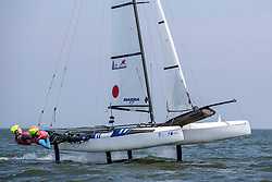 The Allianz Regatta is the first event of the 2021 Hempel World Cup Series. Hosted in Medemblik, The Netherlands, 350 sailors will race across eight Olympic classes across two weeks of competition. 2 June, 2021 © Sander van der Borch / Allianz Regatta