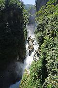 Waterfall near Montañita, Ecuador
