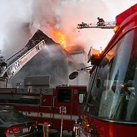 Allston 5 alarm fire, 10/27/12