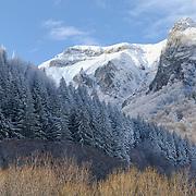 Un site en hiver