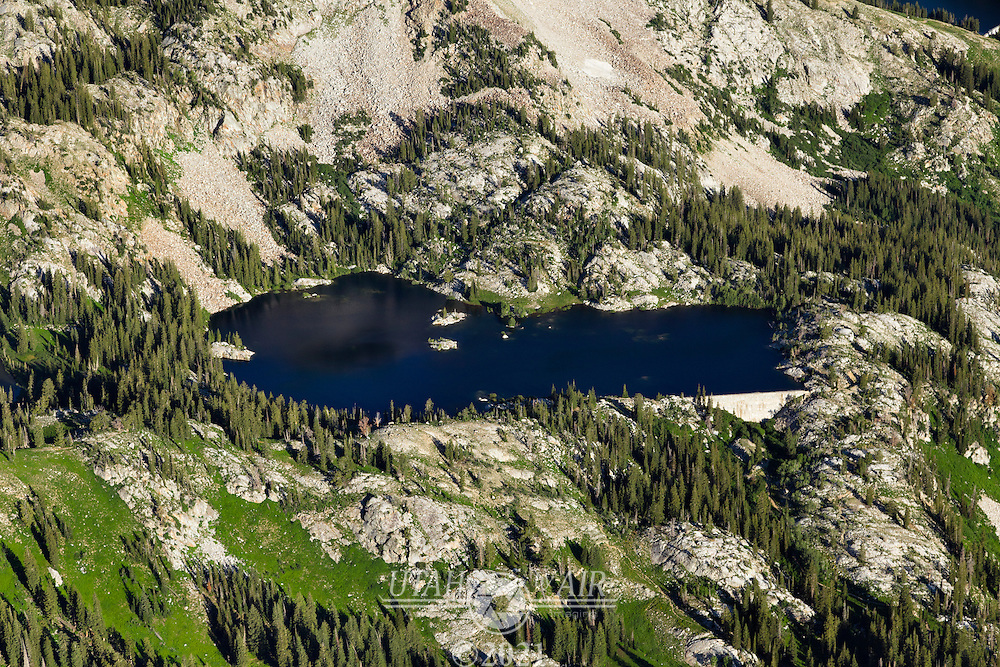 Mary lake in Little Cottonwood Canyon