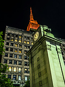 The Empire State Building is in Manhattan, New York City.