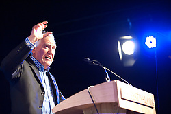 © London News Pictures. 31/05/2015. Hay-on-Wye, Powys, Wales, UK. British Labour Party politician, who was Member of Parliament (MP) for Neath, gives a lecture on the last day of the Hay Festival - Back to the Future of Socialism: What's gone wrong with capitalism and how should governments respond? Did Big Government or Big Banking cause the global financial crisis? Is the answer austerity or investment in growth; untrammelled market forces or regulating for the common good? Photo credit : Graham M. Lawrence/LNP.