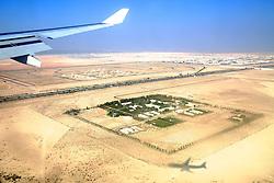 O deserto visto de dentro do avião minutos antes de pousar em Abu Dhabi. O S.C. Internacional participa de 8 a 18 de dezembro do Mundial de Clubes da FIFA, em Abu Dhabi. FOTO: Jefferson Bernardes/Preview.com