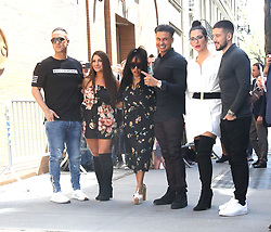 Jerser Shore Cast in New York City. 02 May 2018 Pictured: Jerser Shore Cast. Photo credit: MEGA TheMegaAgency.com +1 888 505 6342