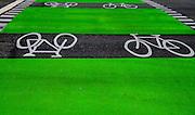 Bike lanes in Vancouver