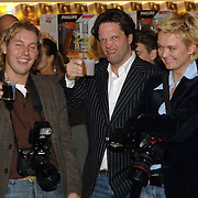 NLD/Amsterdam/20060216 - Senseo Artworks Event, Dennis van Tellingen en Guido den Aantrekker, Helene Wiesenhaan