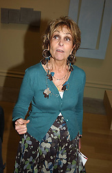 PAULA REGO at the Royal Academy dinner before the official opening of the Summer Exhibition held at the Royal Academy of Art, Burlington House, Piccadilly, London W1 on 1st June 2005.<br />