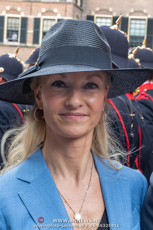 NLD/Den Haag/20190917 - Prinsjesdag 2019, Léon de Jong en .........
