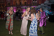 ANYA BARKER;  EMILY STEEL; COUNTESS PAOLA VON CSAKY;  ROBIN WIGHT; CATHERINE HUNT,( BLUE )  V & A Summer party. South Kensington. London. 22 June 2016
