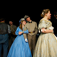 A ball is held on the final night of the Chancellorsville 150th reenactment in Spotsylvania, VA on May 4, 201