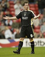 Photo: Aidan Ellis.<br /> Barnsley v Cardiff City. Coca Cola Championship. 29/09/2007.<br /> Cardiff's Robbie Fowler