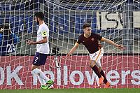 Esultanza Stephan El Shaarawy Roma dopo il gol Goal celebration <br /> Roma 04-03-2016 Stadio Olimpico, Football Calcio Serie A 2015/2016 AS Roma - Fiorentina.  Foto Andrea Staccioli / Insidefoto
