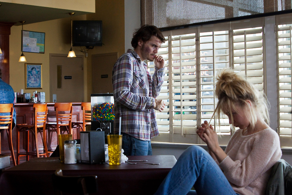 """Emile Hirsch and Juno Temple in the feature film """"Killer Joe"""" directed by William Friedkin."""