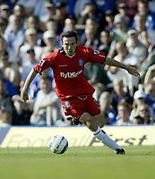 Fotball<br /> Foto: Fotosports/Digitalsport<br /> NORWAY ONLY<br /> <br /> Portsmouth v Birmingham Premiership 14/08/2004 Premiership (1-1)<br /> Stan Laziridis (Birmingham)