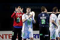 Håndball , 17. januar 2016 ,  :Norge vs Brasil - Championnat du Monde - 17/01/2017<br /> joie Sander Sagosen (Norvege) (Norvege) Torbjørn Bergerud (Norvege)<br /> Norway only
