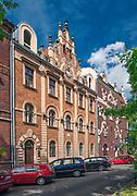 Ulica Retoryka 3 w Krakowie - dom projektu Teodora Talowskiego, Polska<br /> Retoryka 3 Street in Cracow - house of the project of Teodor Talowski, Poland