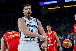 Gasper Vidmar of Slovenia during the Final basketball match between National Teams  Slovenia and Serbia at Day 18 of the FIBA EuroBasket 2017 at Sinan Erdem Dome in Istanbul, Turkey on September 17, 2017. Photo by Vid Ponikvar / Sportida