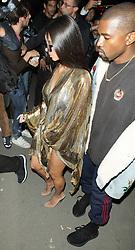 Kim Kardashian und Kanye West bei der Balmain After Party im LouLou Restaurant während der Paris Fashion Week / 290916<br /> <br /> ***Balmain After Party as part of Paris Fashion Week on september 29, 2016 in Paris***