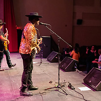 Crowds danced in the aisles during the Carvin Jones blues and rock and roll concert at the El Morro Theatre on September 28, 2019.