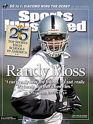 Randy Moss, Sports Illustrated, 2005
