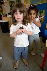 Girls in Nursery School,