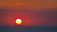 Sunrise on the Bay of Biscay from the Deck of the MV Explorer. Semester at Sea, Summer 2014 Semester Voyage. Image taken with a Nikon Df camera and 70-200 mm f/4 VR lens (ISO 100, 200 mm, f/8, 1/125 sec). Raw image processed with Capture One Pro and Photoshop CC.