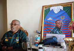 Cape Town- 180731 Norman Mbiko in his house in Nyanga East. Norman 'Nhonho' Mbiko At the height of Apartheid Mbiko was chosen as the captain of the Black Springbok team Although born in Kraaifontein in 1945, the notorious Group Areas Act saw his family being forcibly moved to Nyanga East As a student at Langa High School, Mbiko soon made his mark on the rugby field and became popular as a scrum-half He played for the Black Western Province Rugby Union from the age of 19 until his retirement form the sport in 1979 Picture Ayanda Ndamane/ African News Agency (ANA)