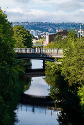 Sheffield & Tinsley Canal Attercliffe & Staniforth Road Bridge 7 heading towards Sheffield City Centre<br /> <br /> 06 September 2020<br /> <br /> www.pauldaviddrabble.co.uk<br /> All Images Copyright Paul David Drabble - <br /> All rights Reserved - <br /> Moral Rights Asserted -