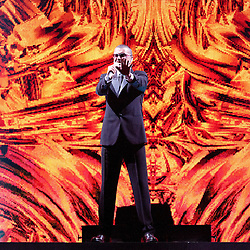September 14, 2012 - London, England, United Kingdom - George Michael performing live at the Ziggo Dome in Amsterdam, The Netherlands, September 14th 2012. (Credit Image: © Dennis Stempher/Avalon via ZUMA Press)