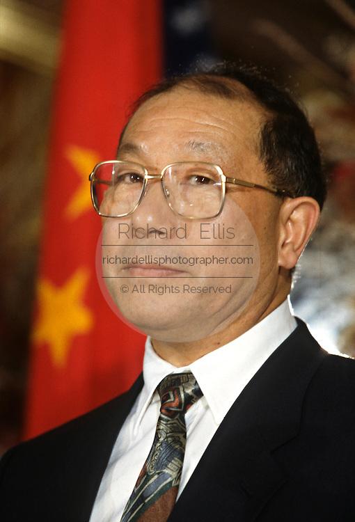 Chinese Minister of Finance Liu Zhongli November 19, 1996 in Washington, DC.