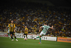 August 14, 2018 - Athens, Greece - Hendry Jack of Celtic tries to find his teammates during   the UEFA Champions League 3rd Qualifying round second  leg match AEK FC  vs Celtic FC at the Olympic Stadium of Athens , on 14 August 2018. (Credit Image: © Giannis Alexopoulos/NurPhoto via ZUMA Press)