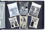 happy times photo album page 1940s England