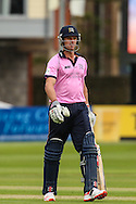 Nick Compton of Middelsex during the NatWest T20 Blast South Group match between Gloucestershire County Cricket Club and Middlesex County Cricket Club at the Bristol County Ground, Bristol, United Kingdom on 15 May 2015. Photo by Shane Healey.
