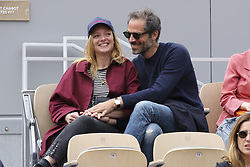 May 31, 2019 - 2019 Roland-Garros Tennis Open. Internationaux de tennis de Roland-Garros. Tribunes. Charlie Bruneau. Jean Baptiste Pouilloux....240179 2019-05-30  (Credit Image: © Arnal-Durden/Starface via ZUMA Press)