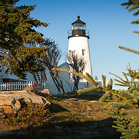 Built in 1835, on the west side of entrance to Muscongus Bay, was the first in Maine to be automated in 1934.