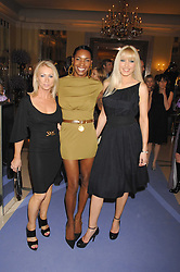 Left to right, KAREN MILLEN, SONIQUE and EMMA NOBLE at the 10th Anniversary Party of the Lavender Trust, Breast Cancer charity held at Claridge's, Brook Street, London on 1st May 2008.<br /><br />NON EXCLUSIVE - WORLD RIGHTS