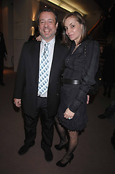 HAMISH McALPINE and CAROLE SILLER at the Lighthouse Gala Auction in aid of the Terence Higgins Trust held at Christie's, St.James's, London on 12th March 2007.<br /><br />NON EXCLUSIVE - WORLD RIGHTS