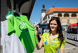 Mana presenting Official shop during 2nd Stage of 26th Tour of Slovenia 2019 cycling race between Maribor and Celje (146,3 km), on June 20, 2019 in  Slovenia. Photo by Vid Ponikvar / Sportida