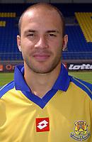 Fotball<br /> Frankrike 2004/05<br /> FC Gueugnon<br /> 27. juli 2004<br /> Foto: Digitalsport<br />  YOANN ZANONI