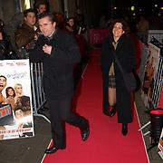 Premiere Shouf Shouf Habibi, Sandy Wenderhold en man Michel van de Sanden