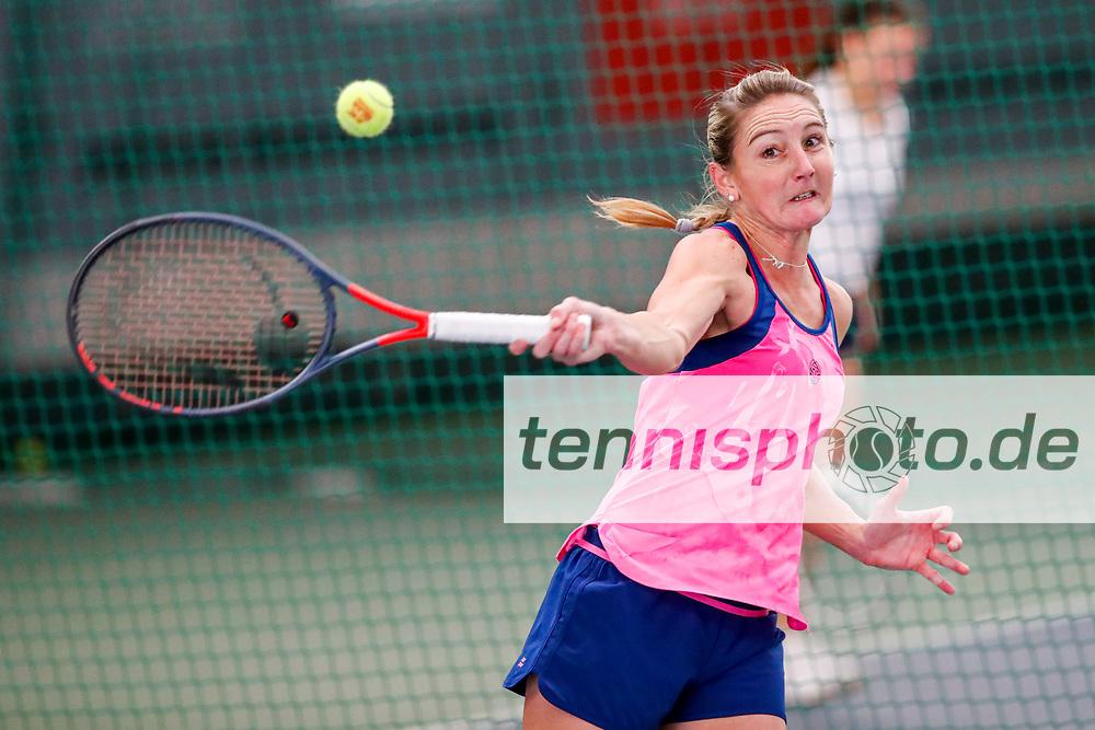 Steffi Bachofer (GER) Deutsche Meisterschaften der Damen und Herren 2020 - Deutscher Tennis Bund e.V. am 7.12.2020 in Biberach (Bezirksstützpunk Biberach (WTB)), Deutschland, Foto: Mathias Schulz