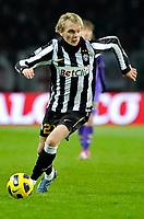 Milos Krasic (Juventus)<br /> Juventus Fiorentina 1-1 - Campionato di Calcio Serie A TIM 2010-2011<br /> Stadio Olimpico, Torino, 27/11/2010<br /> © Insidefoto