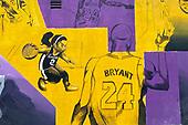 NBA-Kobe Bryant Mural-Oct 23, 2020